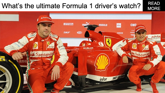 Ultimate Formula 1 Driver's Watch